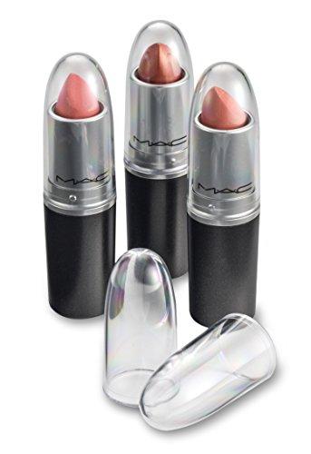 byAlegory Klar Lipstick Caps für MAC - Ersetzt die Originalkappe, um Ihre Lieblingslippenstiftfarbe leicht zu sehen (24 Caps)