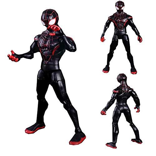 17cm Ultimate Spider-Man Modelo Decoración De La Muñeca De Juguete De Regalo De Cumpleaños