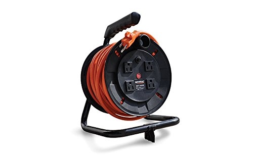 Generac 6883 50-Feet Cord and Reel Kit for Portable Generators and Inverters