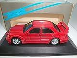 絶版銀箱1/43メルセデスベンツMercedes 190E Evo 2 Street Signal Red