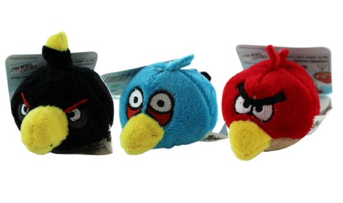 Angry Birds Pencil Toppers (3 Piece Set) - Angry Birds Blush Pencil Toppers by Rovio