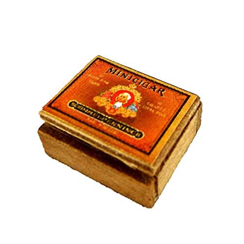 Melody Jane Poupées Miniature Boite de Cigares Bar Pub Den Étude Accessoire 1:12 Échelle