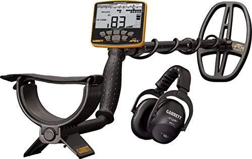 Garrett ACE Apex Metal Detector with 6x11' DD Multi-Flex Viper Searchcoil and...