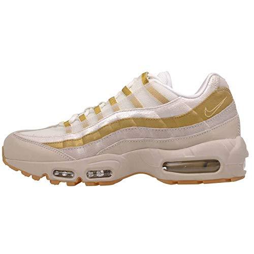 Nike Womens WMNS Air Max 95 Desert Sand/Metallic Gold Av8428 001 Size - 7W