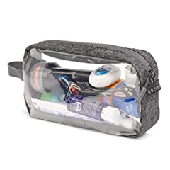 SUITABLE FOR TSA AIRPORT SECURITY - put all of your toiletries in one bag that can go through the scanner. Stop fiddling around with the small plastic bags they give you at the airport, this goes straight through the x-ray machine without having to u...
