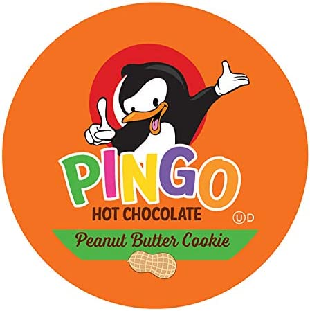 Pingo Hot Chocolate Pods for Keurig K Cup Brewers Peanut Butter Cookie 40 Count product image