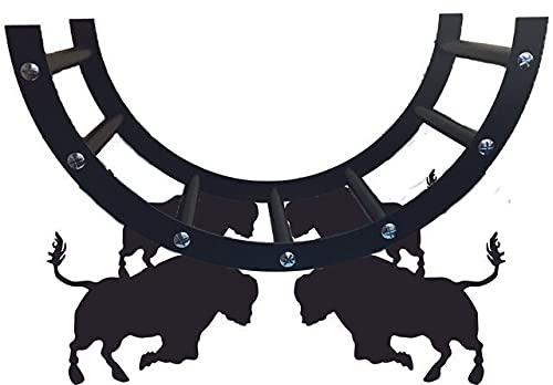 Estante de acero de Bull