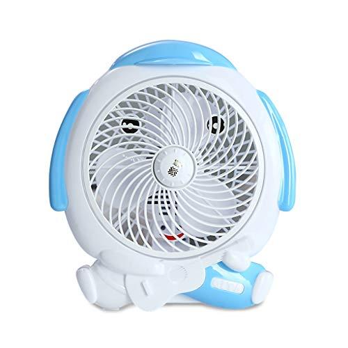 XRZMD Ventilador eléctrico hogar de los Estudiantes Dormitorio Cama pequeño Ventilador de...
