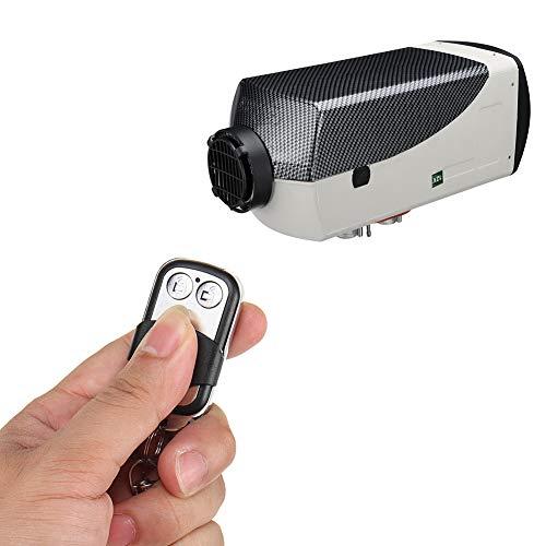 Diesel Riscaldatore Auto Digitale 5000W 12V con Telecomando, Termostato Diesel Aria Riscaldatore Monitor LCD Riscaldatore del Parcheggio per Camper, Rimorchio, Camion, Barca, Yacht