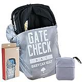 Kindersitz Reisetasche, Autokindersitz Transporttasche - Wasserdicht, Strapazierfhiges Nylon, 100% Schutz - Flugzeug Gate Check in - Einfacher Transport & zu identifizieren am Flughafen Gepckband