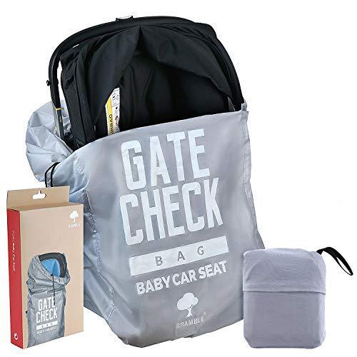 Reistas voor Autostoeltjes Baby om In te Checken – Hoogwaardige Kwaliteit, Compact, Waterdicht en 100% Bescherming - Makkelijk te Dragen en te Herkennen op de Bagageband van de Luchthaven.
