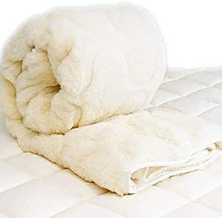 Woolstar Cot Baby Wool Mattress Topper, Size 132x77cm