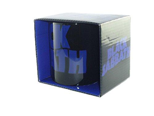 Black Sabbath - Rock Band Tasse Geschenktasse (Wavy Logo).toll verpackt in einer Geschenkbox!