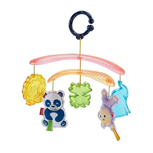Fisher-Price DYW54 - Buggy Baby Mobile, Kinderwagen Zubehör mit Spielzeug zum Aufhängen, Spielzeug ab der Geburt