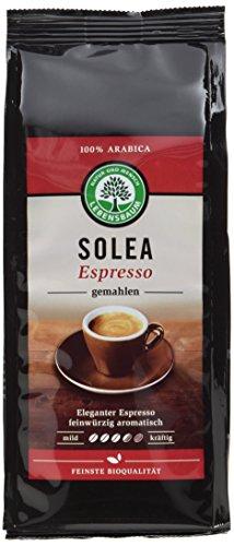Lebensbaum Bio Espresso Solea gemahlen, 6er Pack (6 x 250 g)
