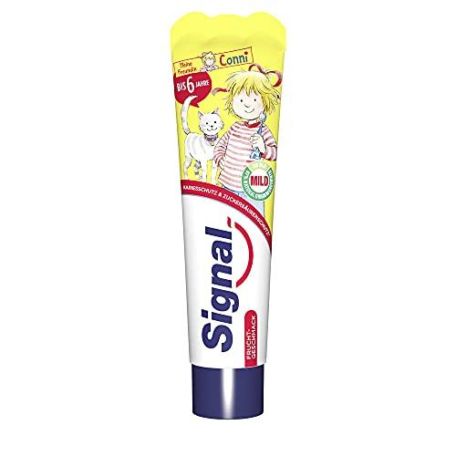 Signal Zahnpasta Kids (bis 6 Jahre mit Fruchtgeschmack), 1 x 50 ml