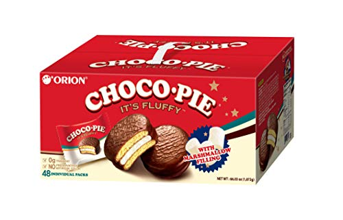Orion CHOCO PIE with Marshmallow Filling 48 Pack