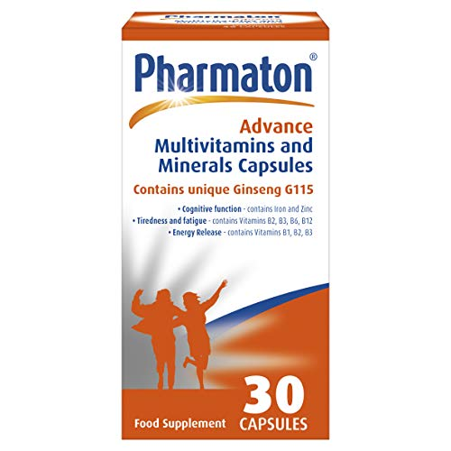 Pharmaton Advance Multivitamin and Mineral Capsules 30, Capsules