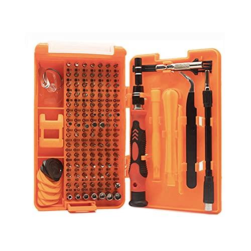 GIAO Juego de Destornilladores de Precisión, Kit de Herramientas Precision de Reparación de Bricolaje Profesional Destornilladores imantados relojero(Color:A)