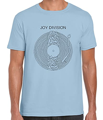 Daffy Joy Division Ilustración de vinilo, azul, 42