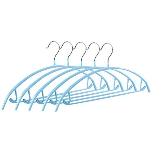 DOITOOL Perchas de ropa de arco semicircular, 5 piezas