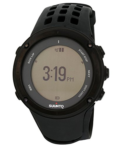 Suunto Ambit2 Black-HR Reloj con GPS Integrado, Unisex, Negro