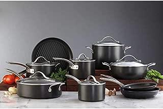 Kirkland Signature 15-Piece Durable Hard Anodized Aluminum Non-Stick Teflon Cookware Set