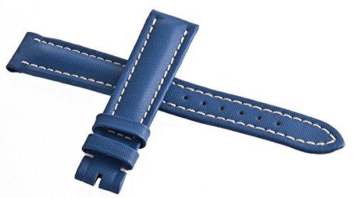 Genuine Breitling blu del cinturino dell' orologio da donna 16mm x 14mm