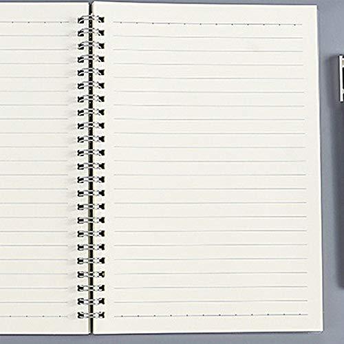 hengguang Tweedelig A6 A5 B5 Schoolbenodigdheden Notitieboek, Geruit Vierkant Notitieboek, Stippellijn Blanco Tekening Organisator Planner Agenda Boek Tijd Briefpapier 2 A5 / line2
