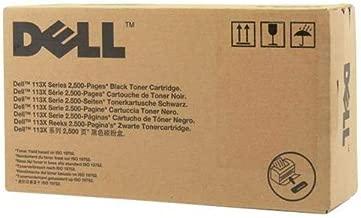 Dell 3J11D Black Toner Cartridge 1130/1130n/1133/1135N Laser Printers