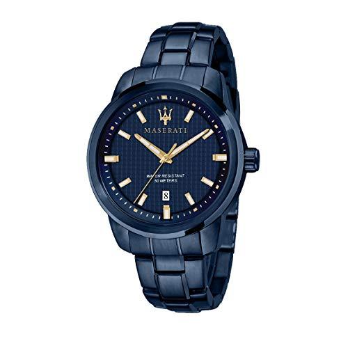 Orologio da uomo, Collezione Blue Edition, in Acciaio, PVD Blu - R8853141002