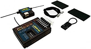 Lemon-RX DSMX Compatible 7-Channel Receiver With Stabilizer + SATELLITE (End-Pin) LM0031