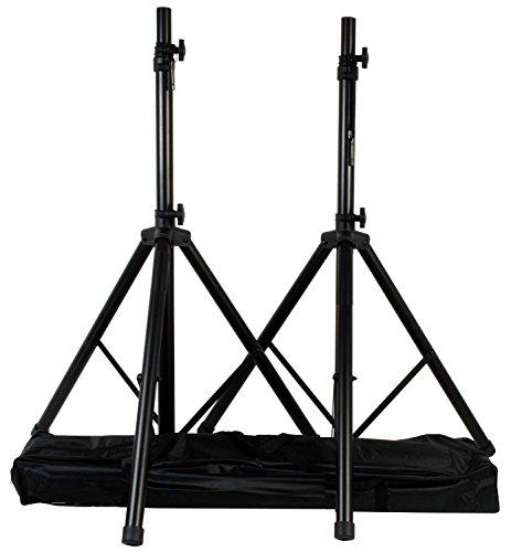 Coppia Stativi con borsa - supporti per casse acustiche/diffusori