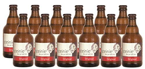 Steinie Original I Das geniale Bier I 12 Flaschen je 0,33 I Bier aus Franken I incl Pfand