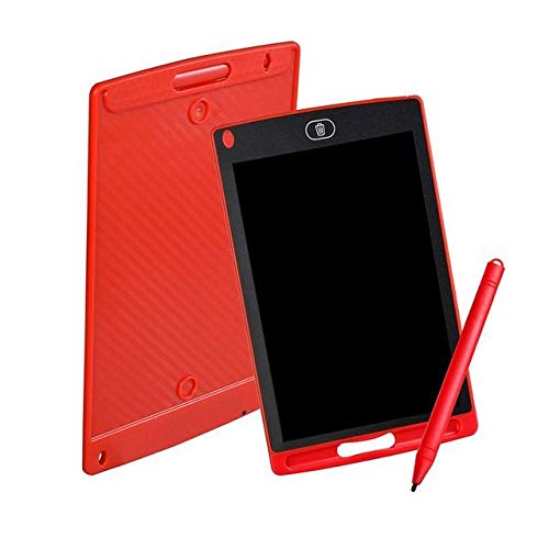 """BXGZXYQ Kinder Smart Tablet 8,5\""""LED LCD Farbmalerei Graffiti WordPad Malerei Spielzeug Zeichenblock Schreibblock Schreibtabletten Grafiktablett (Farbe : ROT)"""