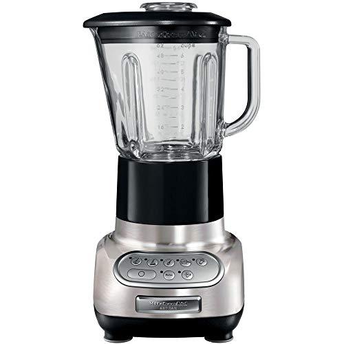 KitchenAid Artisan 5KSB5553BNK Global Glass Blender with Culinary Jar, Brushed Nickel