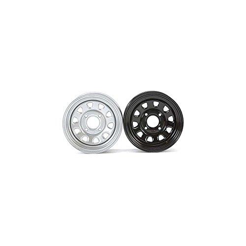 ITP D12F537 Delta Steel Wheel - 12x7 - 4+3 Offset - 4/137 - Black -  1225573014
