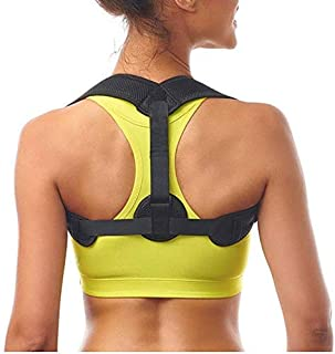 PostureX Back Posture Corrector for Men and Women- Adjustable to All Body Sizes-Effective and Comfortably Worn Over or Under Clothes -Improve Slouching and Hunching Back-Provides Clavicle Support