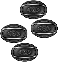 """Pioneer (2 Pairs) TS-A6990F 700W 6""""x 9"""" A-Series 5-Way Coaxial Car Speakers 6x9 photo"""