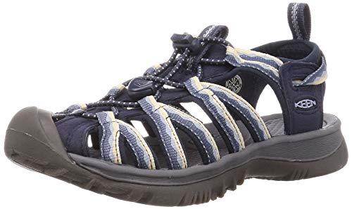 Keen Whisper Sport Sandal, Sandalia Mujer, Niebla Azul Marino, 42 EU