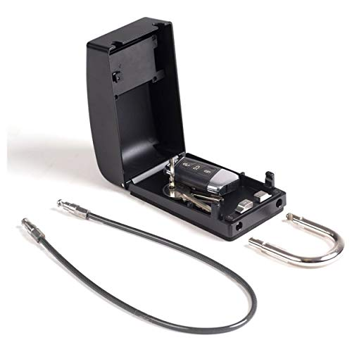 SurfLogic 59147 Candado Guarda Llaves/Key Lock, Adultos Unisex, Negro, XL