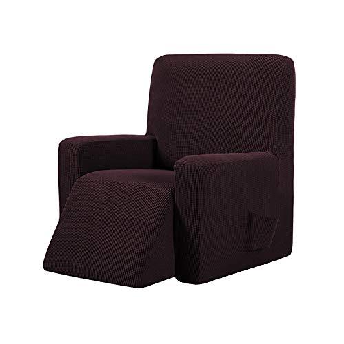 Honeyhouse Funda de sofá de Jacquard, funda elástica para sillón relax completa, funda elástica para sillón reclinable