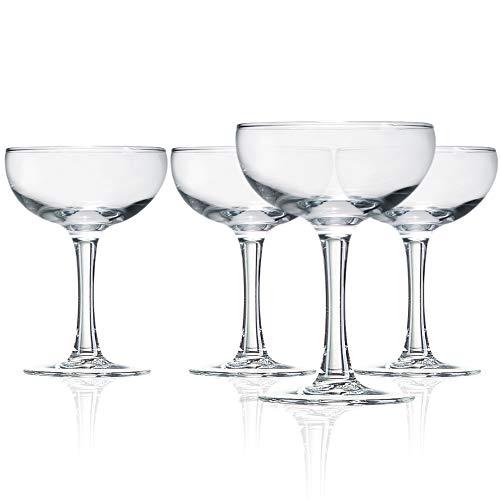 Luminarc Coupe 5.5 oz Cocktail Glasses (Set of 4)