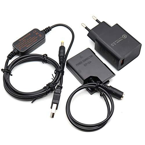 5V USB Línea De Conducción DC 8.4V + EP5A EP-5A EN-EL14 Ba