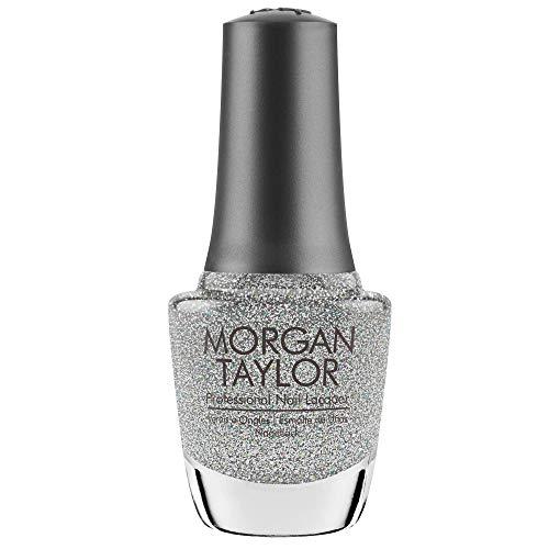Morgan Taylor Vernis Gel Sprinkle Of Twinkle Silver Glitter