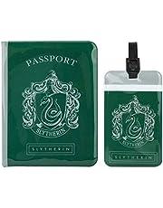 Cinereplicas Harry Potter - Etiqueta de Equipaje y Funda Pasaporte - Licencia Oficial