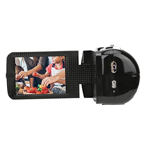 Homeriy Videocámara Videocámara Cámara de Pantalla LCD de 3 Pulgadas Videocámara con...