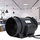 Ventilatore per condotto, sistema di circolazione aria motore 6,3 pollici EC, ventilatore ...