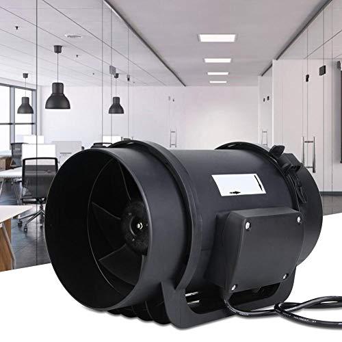 EC Motor AC100-240V Entlüftungsgebläse Inline-Kanal 470CFM für Hotels für Fitnessstudios für Krankenhäuser