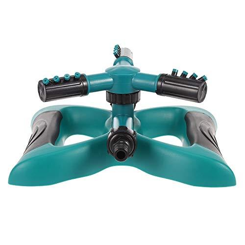 HXIANG Tuinwatersproeiapparaat met 3 armen voor waterirrigatie buitenshuis, 360 graden draaibaar
